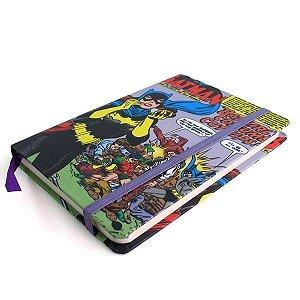 Caderneta Batgirl - DC Comics Licenciado