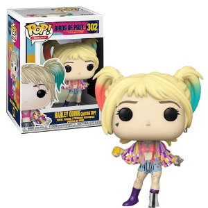 POP! Funko Aves de Rapina: Harley Quinn Caution Tape # 302