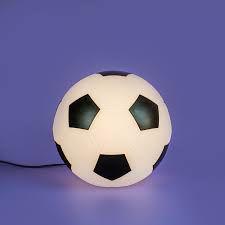 Luminaria Bivolt Bola de Futebol