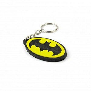 Chaveiro emborrachado Simbolo Batman