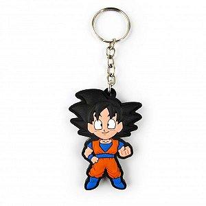 Chaveiro emborrachado Goku 2 - Ação
