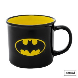 Caneca Porcelana 380ml Batman Logo  - DC Comics