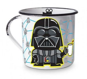 Caneca Esmaltada Darth Vader - Star Wars