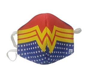Máscara de Proteção em Tecido Reutilizável - Maravilhosa G