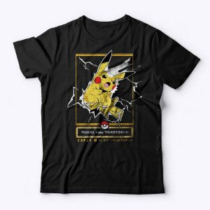 Camiseta Pokémon Choque do Trovão - Studio Geek