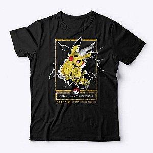 Camiseta Pokémon Choque do Trovão - Studio Geek