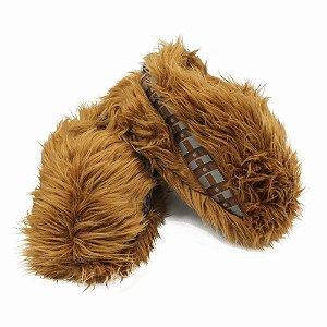 Pantufa Unissex Star Wars Chewbacca - Tamanho M (36/37/38)