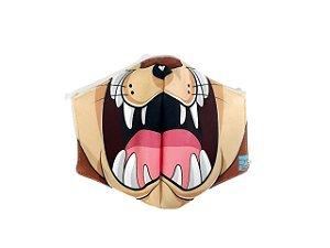 Máscara de Proteção em Tecido Reutilizável Taz - G