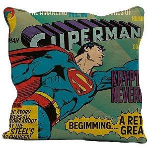 Almofada Aveludada Superman 45 x 45cm - DC Comics