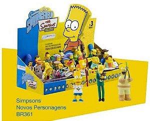 Coleção Miniaturas Os Simpsons, Série 2. 24 Personagens