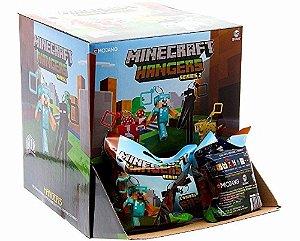 Chaveiro Minecraft Personagens Série 2 - Embalagem Surpresa