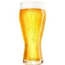 Copo de Vidro Cerveja Budweiser - Oficial