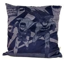 Almofada Aveludada Batman e Robin 45 x 45cm - DC Comics