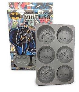 Forma para Cupcake / Mini Bolo Batman DC Comics