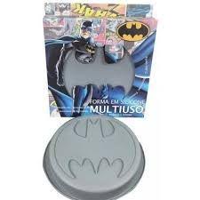 Forma para Bolo Batman Logo - DC Comics
