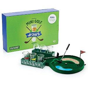 Jogo Mini Golf com Copos de Shot