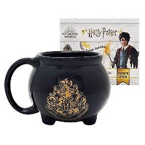 Caneca Porcelana 3D 500ml Caldeirão - Harry Potter