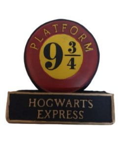 Cofre em Resina Plataforma 9 3/4 - Harry Potter