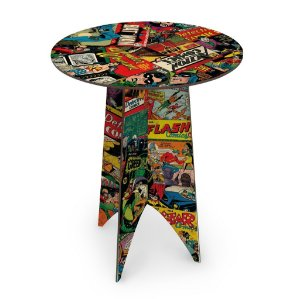 Mesa MDF DC Comics Covers - Capas Clássicas