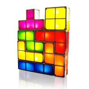 Luminária Interativa 7 peças Formato Tetris - Possibilidades Infinitas!