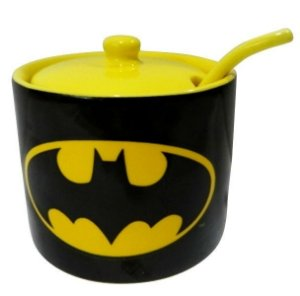 Açucareiro Porcelana Batman - DC Comics