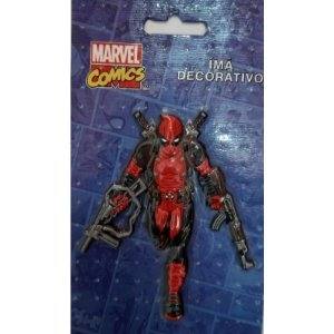 Imã Decorativo Relevo Marvel - Deadpool