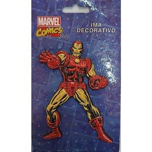 Imã Decorativo Relevo Marvel - Homem de Ferro Ação