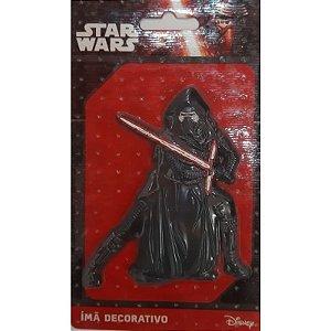 Imã Decorativo Relevo Star Wars - Kylo Ren