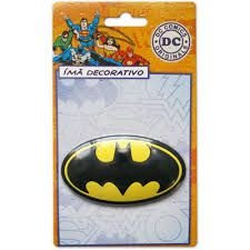 Imã Decorativo Relevo DC Comics - Batman Logo
