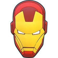 Imã Decorativo Relevo Marvel - Capacete Homem de Ferro