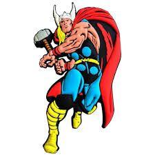 Imã Decorativo Relevo Marvel - Thor