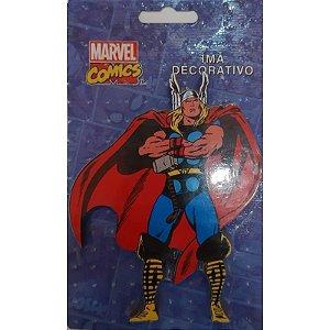 Imã de MDF Relevo Marvel - Thor