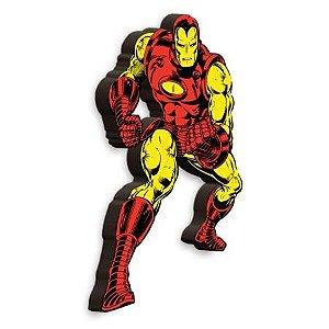 Imã Decorativo MDF Relevo Marvel - Homem de Ferro
