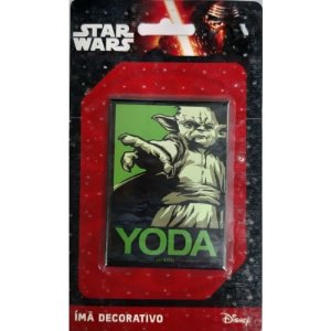 Imã Decorativo Foto Star Wars - Yoda