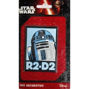Imã Decoratvo Foto Star Wars - R2D2