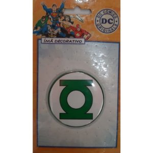 Imã Decorativo Bottom DC Comics - Escudo Lanterna Verde