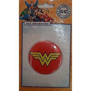Imã Decorativo Bottom DC Comics - Escudo Mulher Maravilha