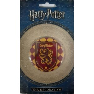 Imã Decorativo Bottom Harry Potter - Brasão Griffinória