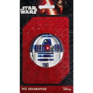 Imã Decorativo Bottom Star Wars - R2D2