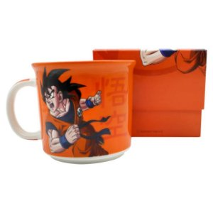 Caneca Tom Porcelana 350ml Dragon Ball - Goku