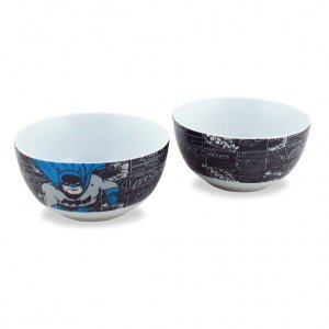 Conjunto 2 Bowls / Tigela Batman - DC Comics