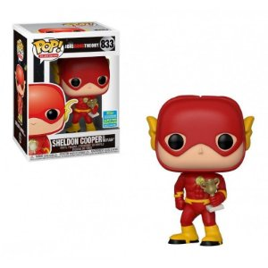 POP! Funko Big Bang Theory - Sheldon Cooper as Flash # 833