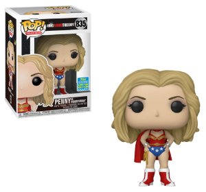 POP! Funko Big Bang Theory - Penny Wonder Woman # 835