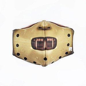 Máscara de Proteção em Tecido Reutilizável - Hannibal M
