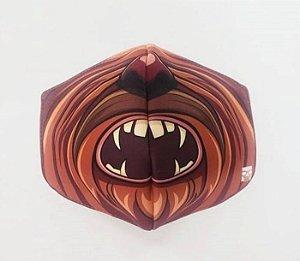 Máscara de Proteção em Tecido Reutilizável - Chewbacca G