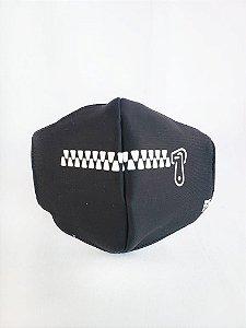 Máscara de Proteção em Tecido Reutilizável - Ziper G