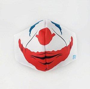 Máscara de Proteção em Tecido Reutilizável - Coringa Novo M