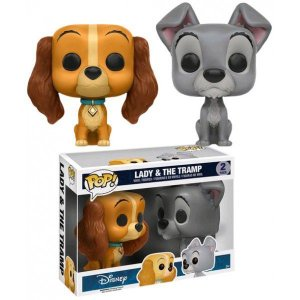 Funko Pop! Disney Lady & The Tramp 2 Pack - Dama e Vagabundo