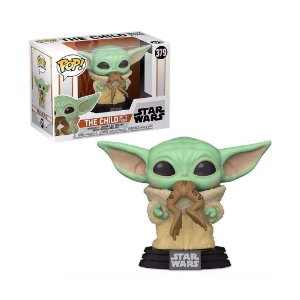 Funko Pop! Star Wars: The Mandalorian Baby Yoda c/ Sapo # 379