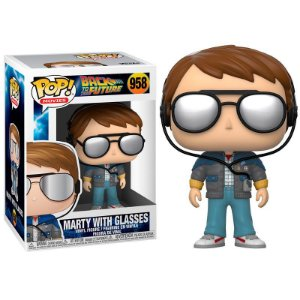 Funko POP! Back to the Future - Marty with Glasses # 958